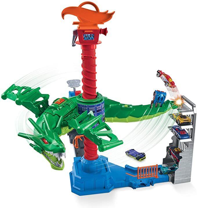 Hot Wheels Dragón Robótico