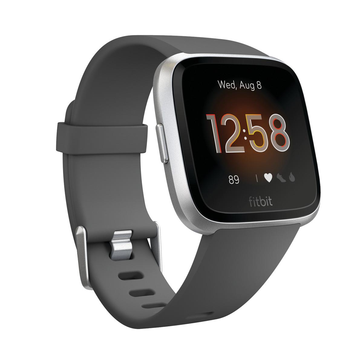 Fitbit Versa Lite Charcoal/ Aluminum
