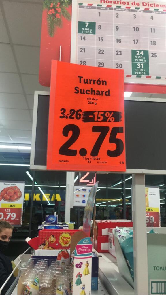 Turrón Suchard