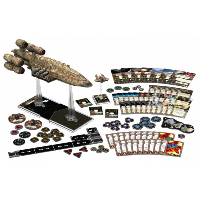 Star Wars, X-Wing Algunas naves en oferta.