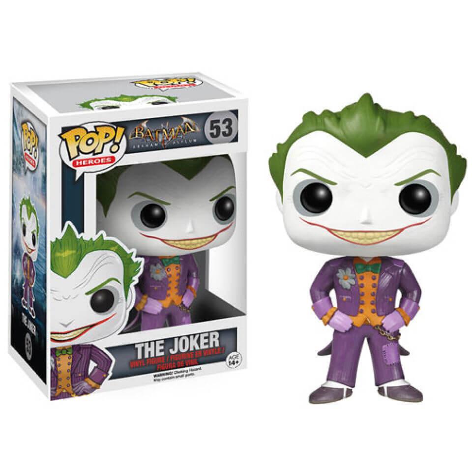 Figura Funko Pop! El Joker - DC Comics Batman: Arkham Asylum