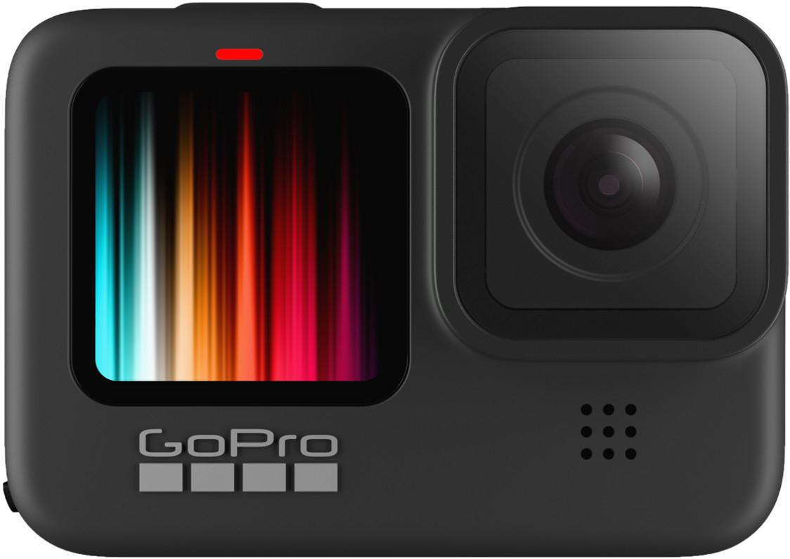 GoPro HERO9 Black - Cámara de acción sumergible con pantalla LCD