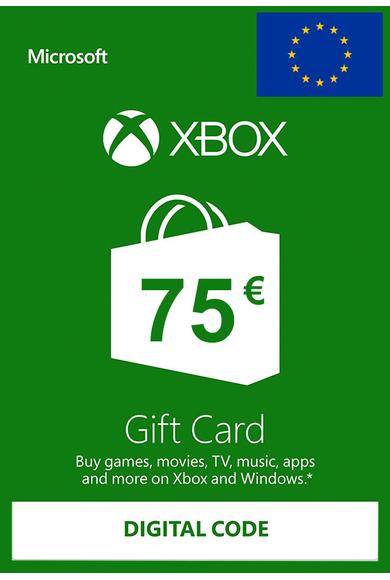 75€ de saldo Xbox por 62€