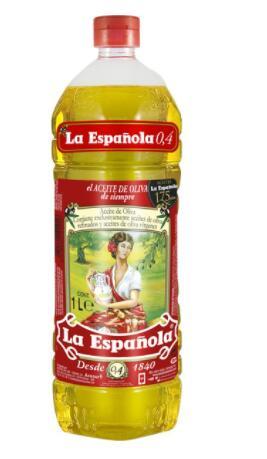 LA ESPAÑOLA Aceite de oliva suave 0,4º segunda unidad al 50%