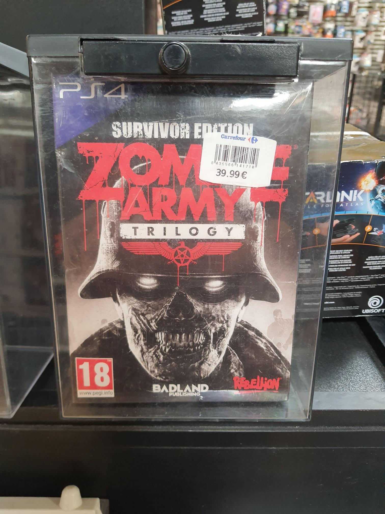 Zombie Army Trilogy Survivor Edition PS4 en el outlet de carrefour atalayas