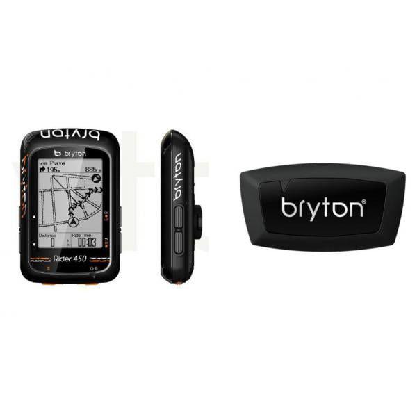 Bryton Rider 450H + HRM