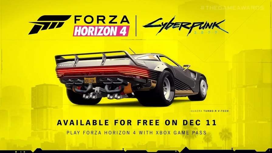 Gratis Quadra Turbo-R V-TECH Cyberpunk 2077 en Xbox Game Pass