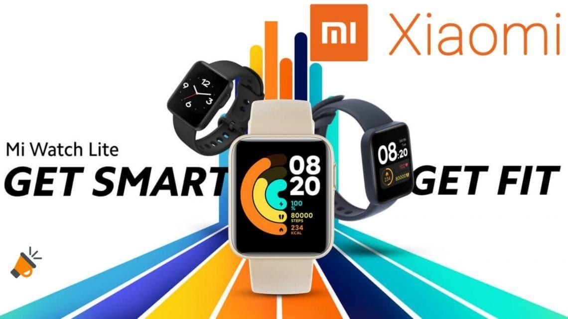 Nuevo Xiaomi Mi Watch Lite: con medición SpO2, GPS y gran batería por 45€