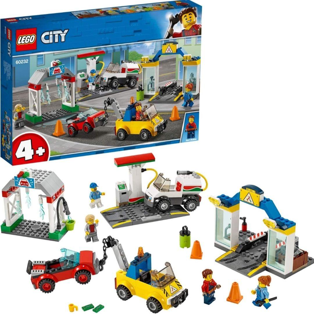 LEGO City Town - Centro Automovilístico Set de construcción con Coches de Juguete para Recrear Aventuras en la Ciudad,