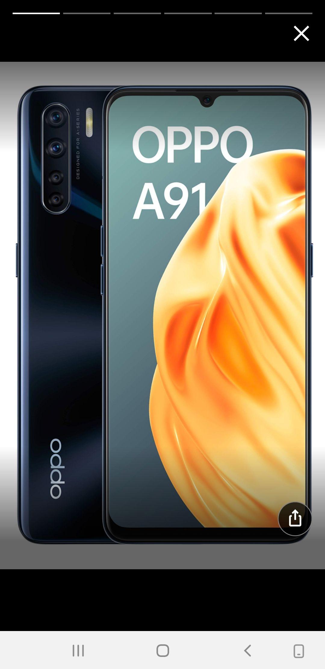 """OPPO A91 - Smartphone de 6.4 """" AMOLED, 8GB, 128GB, Octa-core,"""