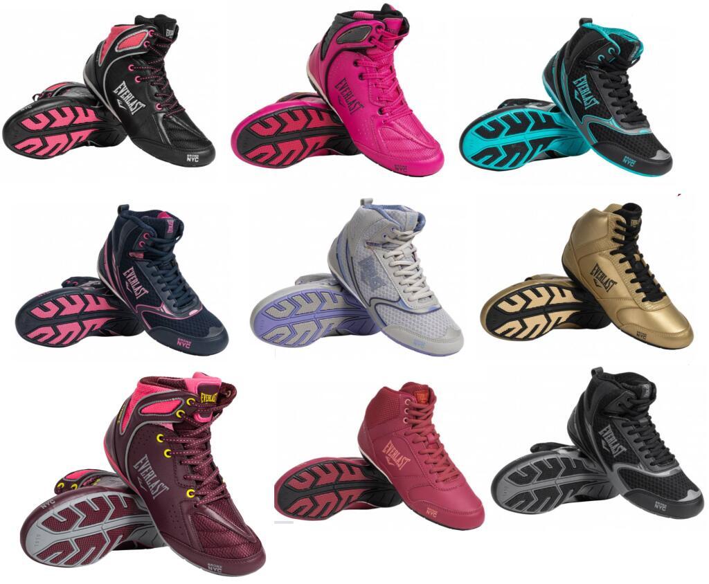 En 9 COLORES - TALLAS 36 a 41 - Zapatillas de Boxeo para Mujer Everlast Force