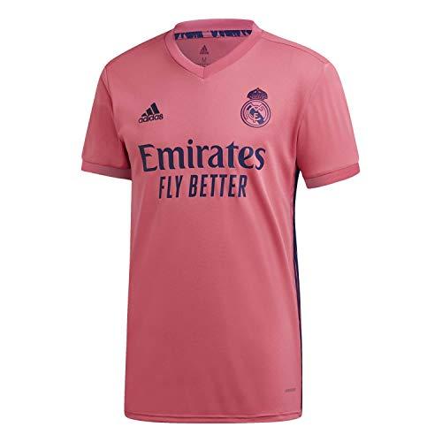 adidas Real Madrid Temporada 2020/21 Camiseta Segunda Equipación Oficial Camiseta Segunda Equipación Oficial Unisex Adulto