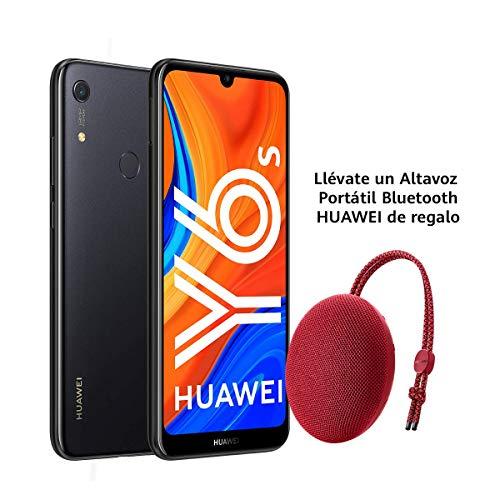 Huawei Y6s + Altavoz Bluetooth CM51 Rojo