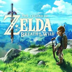 Selección de juegos: The legend of Zelda Breath of the wild (eShop EE. UU., CAN, MEX)