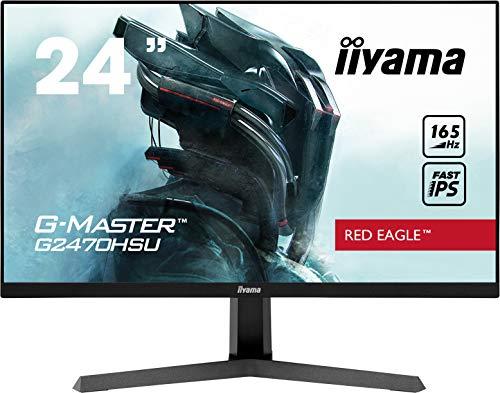 "Monitor 24'' iiyama G2470HSU-B1, Gaming Monitor, 23.8"", IPS, 1920x1080/165Hz, 1H1DP, Nero"