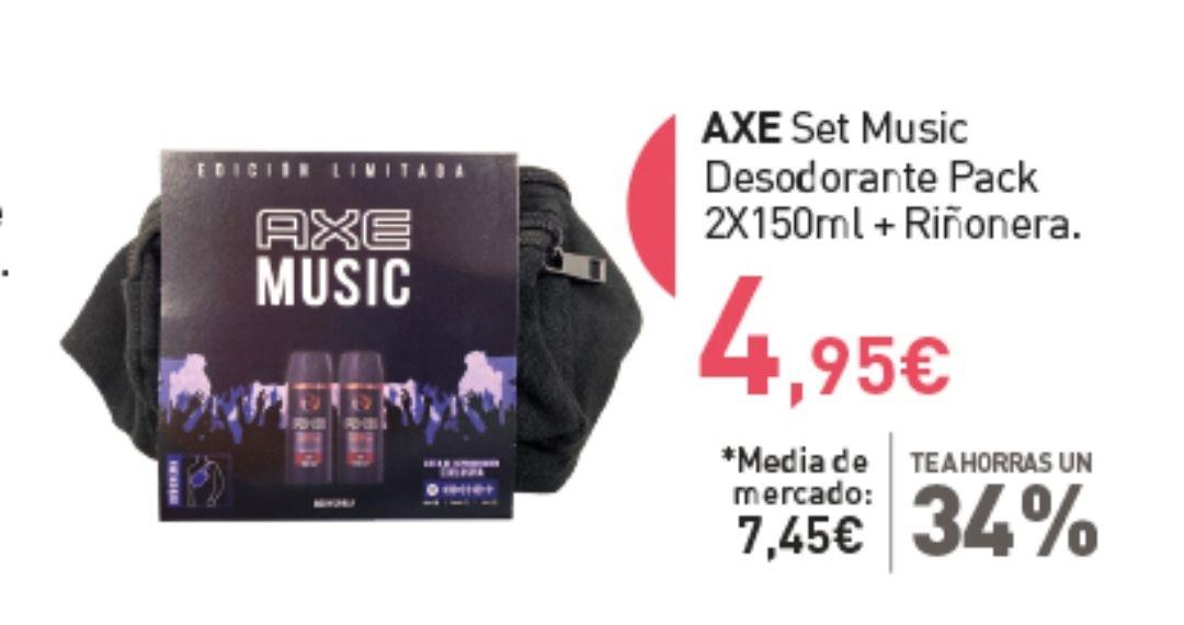 Pack 2 Axe music + riñonera - PRIMAPRIX