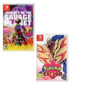 Journey to the Savage Planet 5,88€ y Pokémon Escudo 20€ (AlCampo Castellón de la Plana)