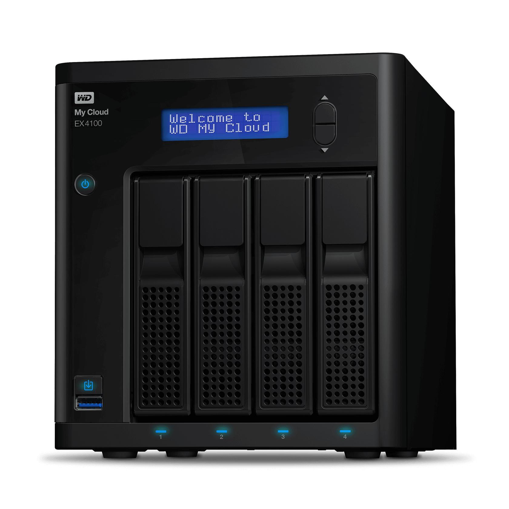 My Cloud Expert Series EX4100 56TB