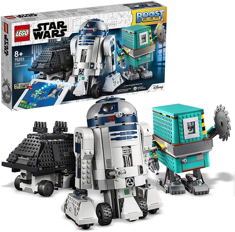 LEGO 75253 Star Wars Boost Droid Commander 3 Robot Juguetes en 1 Juego