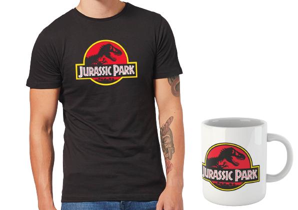 Camiseta+Taza Jurassic Park solo 11.4€