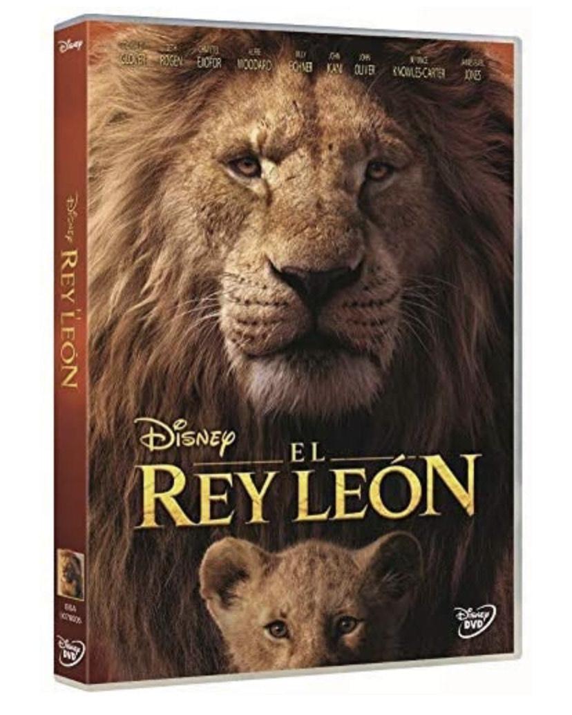 El Rey León DVD