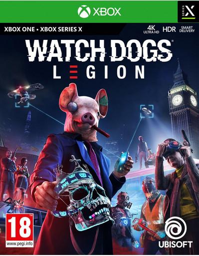 XBOX ONE/SERIES X: Watch Dogs Legion por 34,90€ y Edición Gold por 44,90€ (juegos físicos)