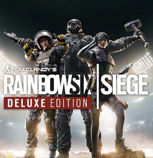 PS4 Y PS5: Tom Clancy's Rainbow Six® Siege Deluxe Edition (juego completo + 16 operadores adicionales)