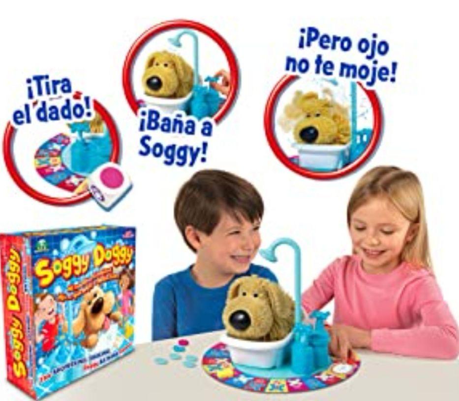 Giochi Preziosi - Soggy Doggy- Juego, Perro Que Moja