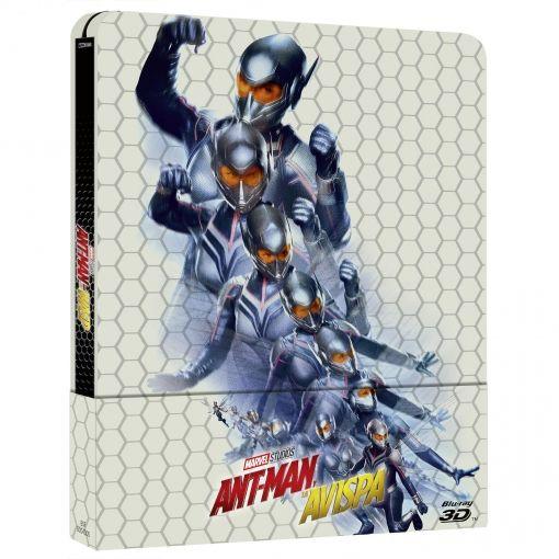 Ant-Man y la Avispa. Marvel. Blu-Ray Steelbook