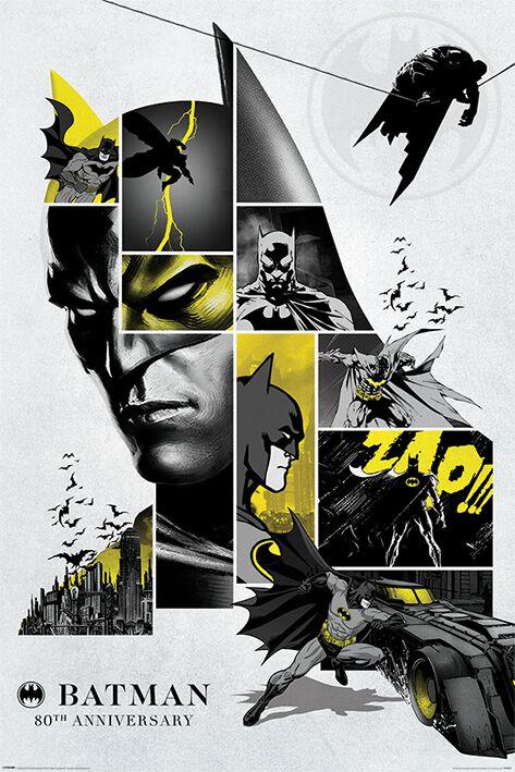 Póster Batman 80's Anniversary