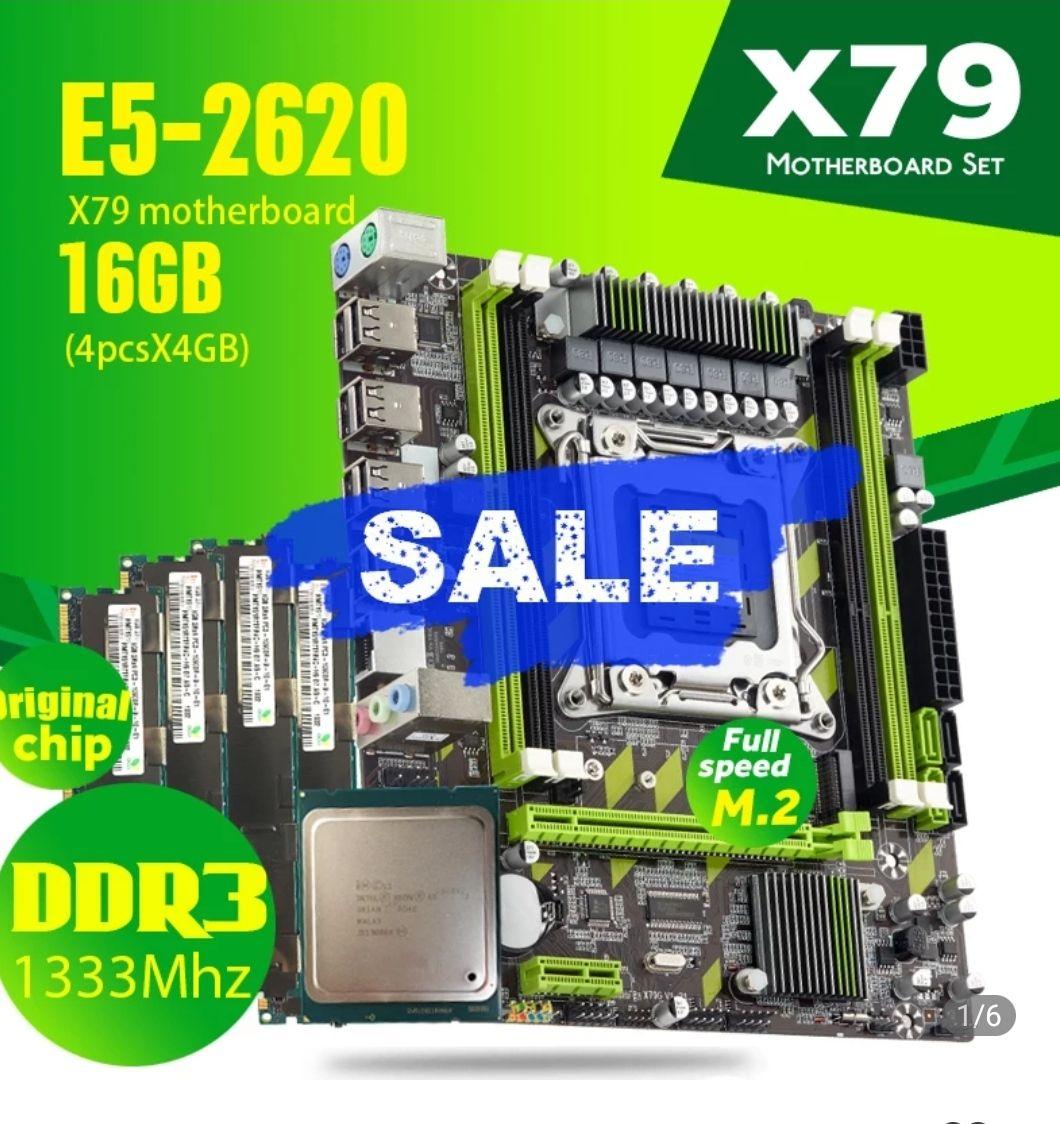 Xeon 2620 6 núcleos 12 hilos
