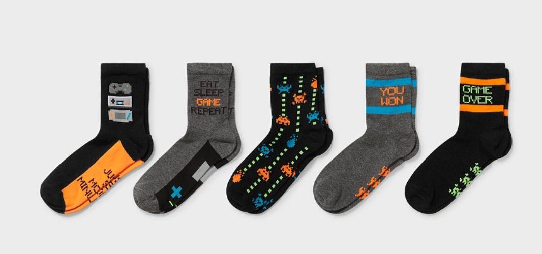 Asteroids. Pack 5 calcetines. Recogida gratis en tienda.