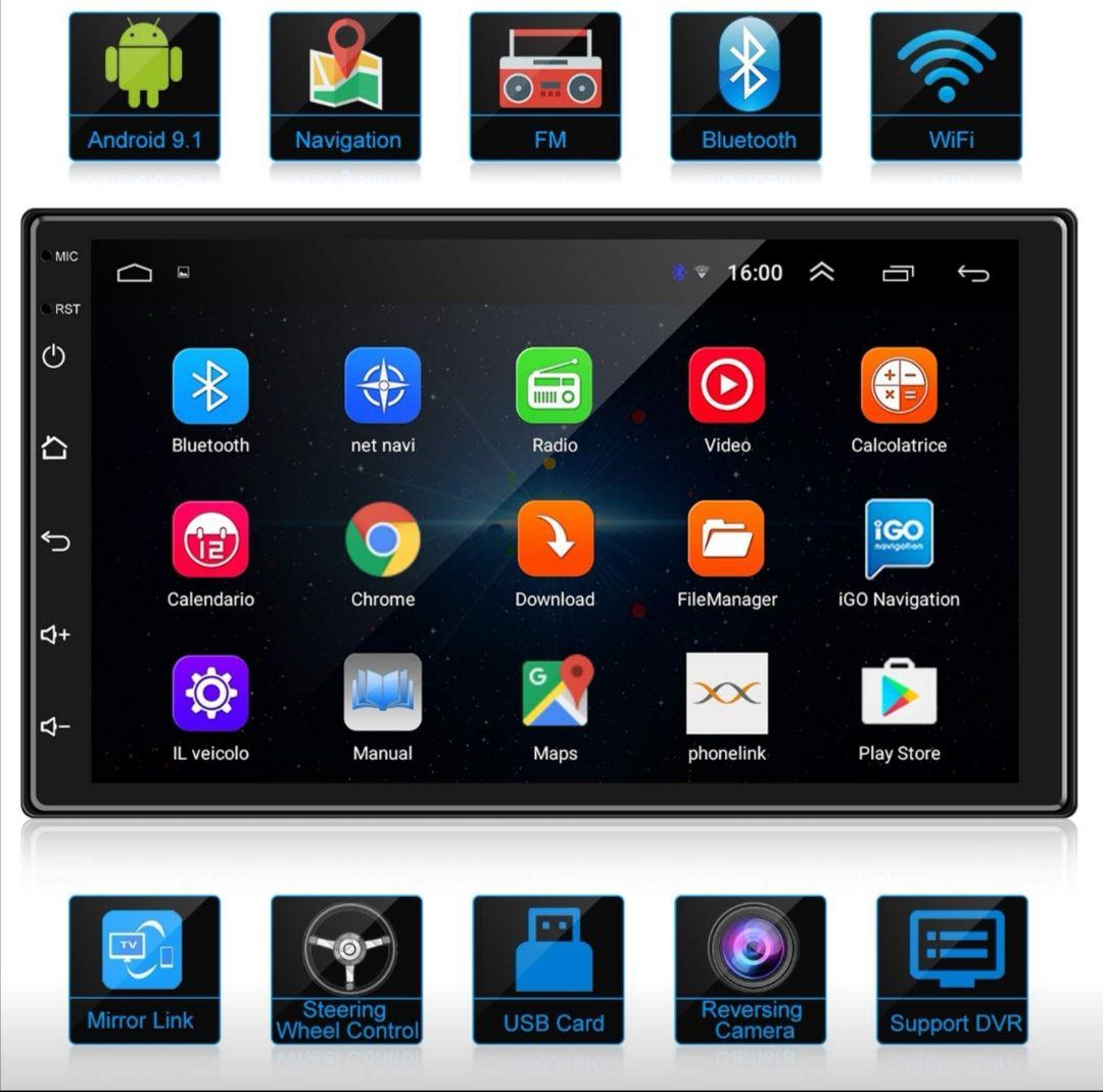 Radio Android para coche