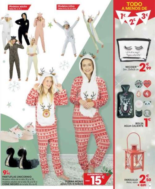 Pijama mono Gifi 15€