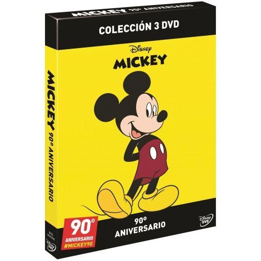 Pack Échate a Reir con Mickey. 90º Aniversario. Volumen 1,3 y 4. Colección 3 DVD