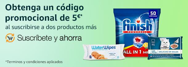 5€ al suscribirse a dos productos más - Cuentas Seleccionadas