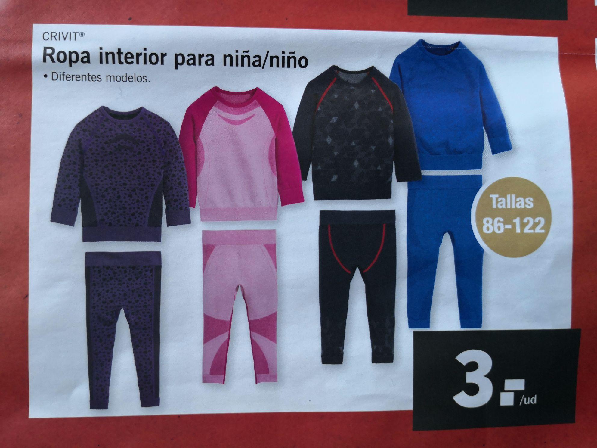 Ropa para niños en Factori Discount (Madrid)
