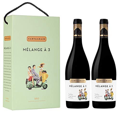 Vino Tinto Quinta Dos Carvalhais Melange a 3 (DOC Dão) - 2 botellas de 750 ml
