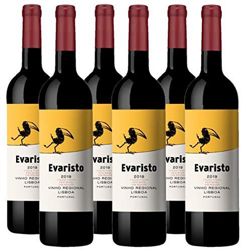 Vino Tinto Evaristo (Vinho Regional Lisboa) - 6 botellas de 750 ml