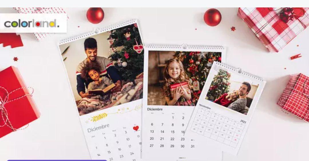 Calendarios de mesa personalizables