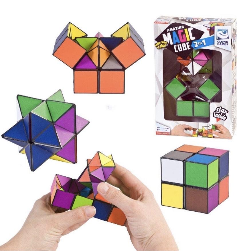 Payaso Magic Cube 2 en 1