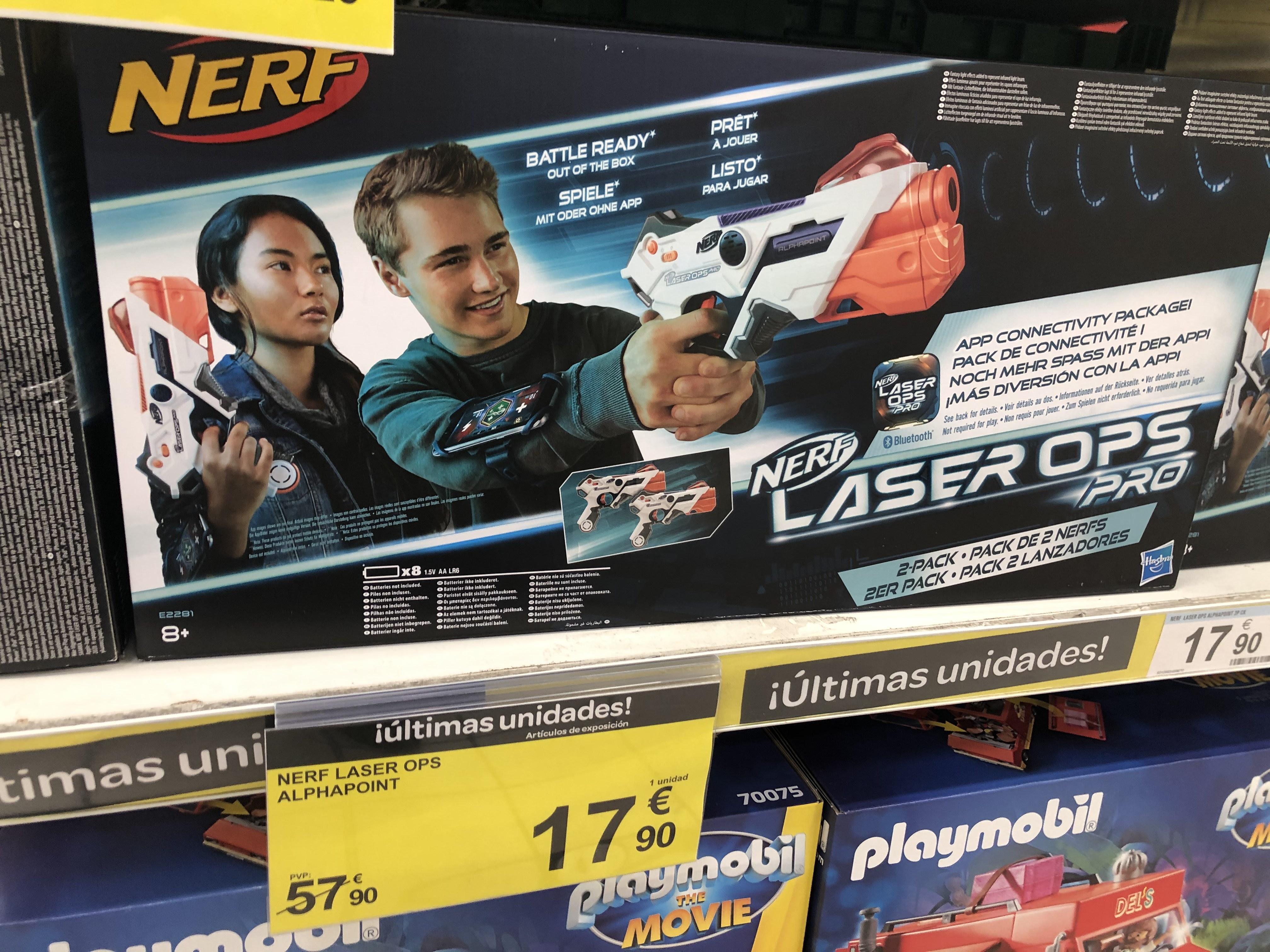 Nerf Laser ops Alphapoint pack de 2 (Ideal para regalo)