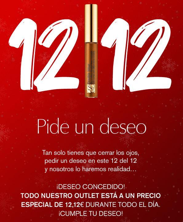 En la web de Estee Lauder hoy 12/12 hay productos a 12,12 €