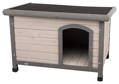 Caseta para perros pequeños hecha de madera por 79,99€