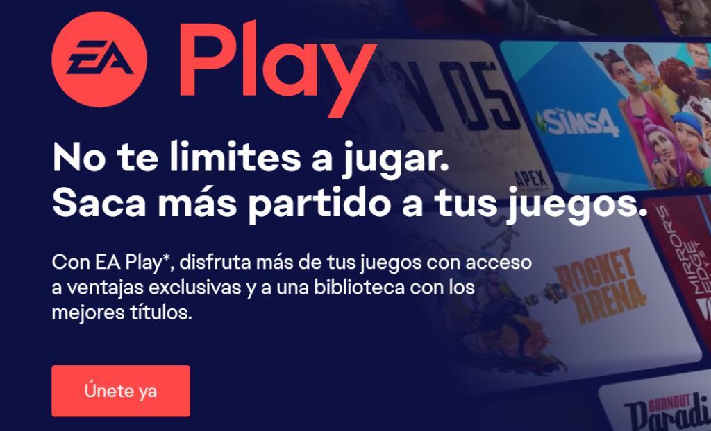 EA Play subscripcción Anual