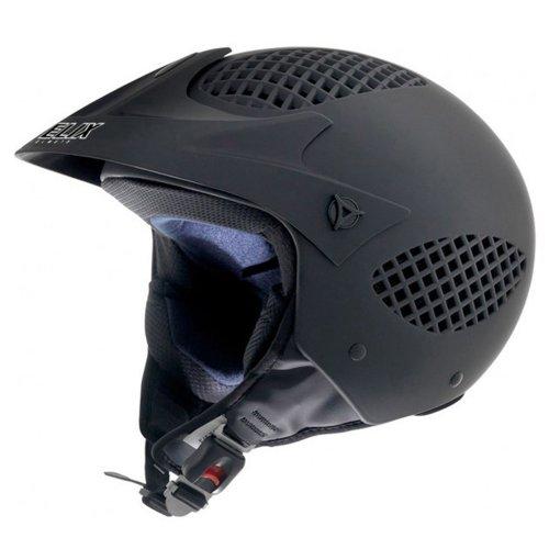 Casco de Moto NZI Airzone Matt Black Casco de Moto, Talla 54 (XS)