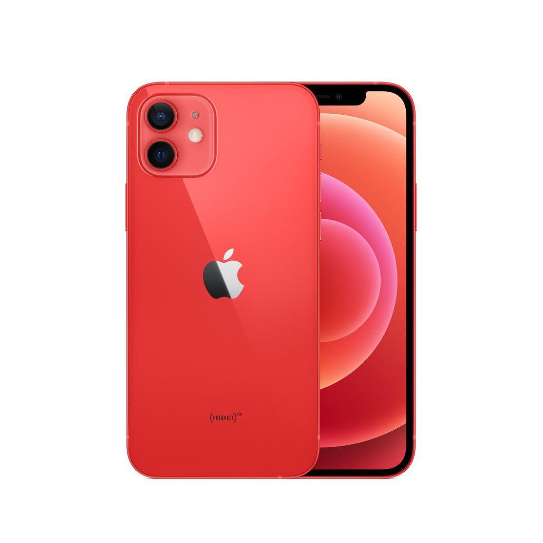 Apple iPhone 12 A2402 5G Dual Sim(nano-SIM & eSIM) 128GB - Rojo