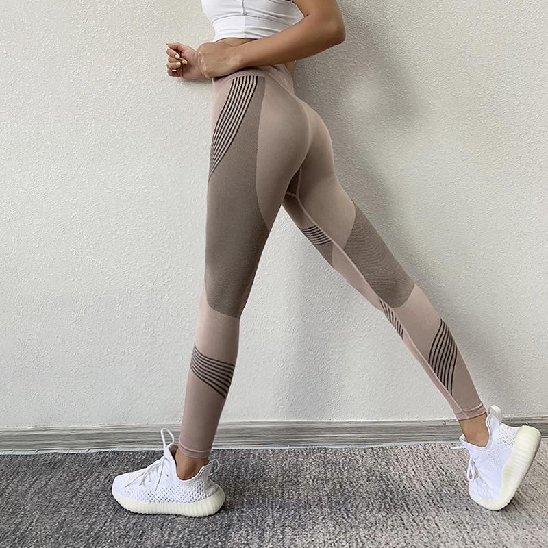 SVOKOR-mallas deportivas de cintura alta para mujer