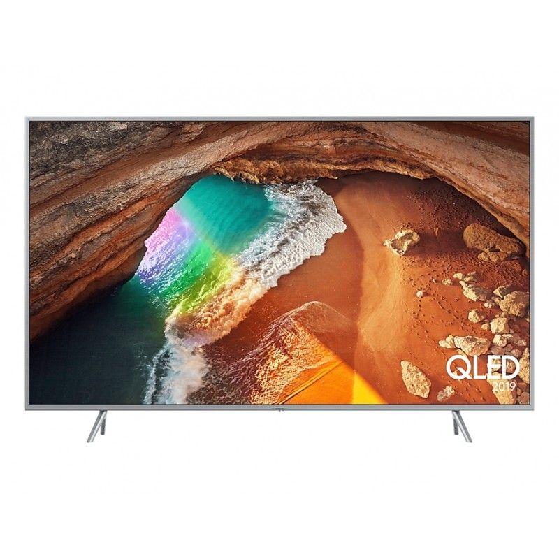 "Televisor Samsung QLED QE55Q64RAT (55"") 4K Ultra Hd Smart Tv Wifi Plata (Reaco)"
