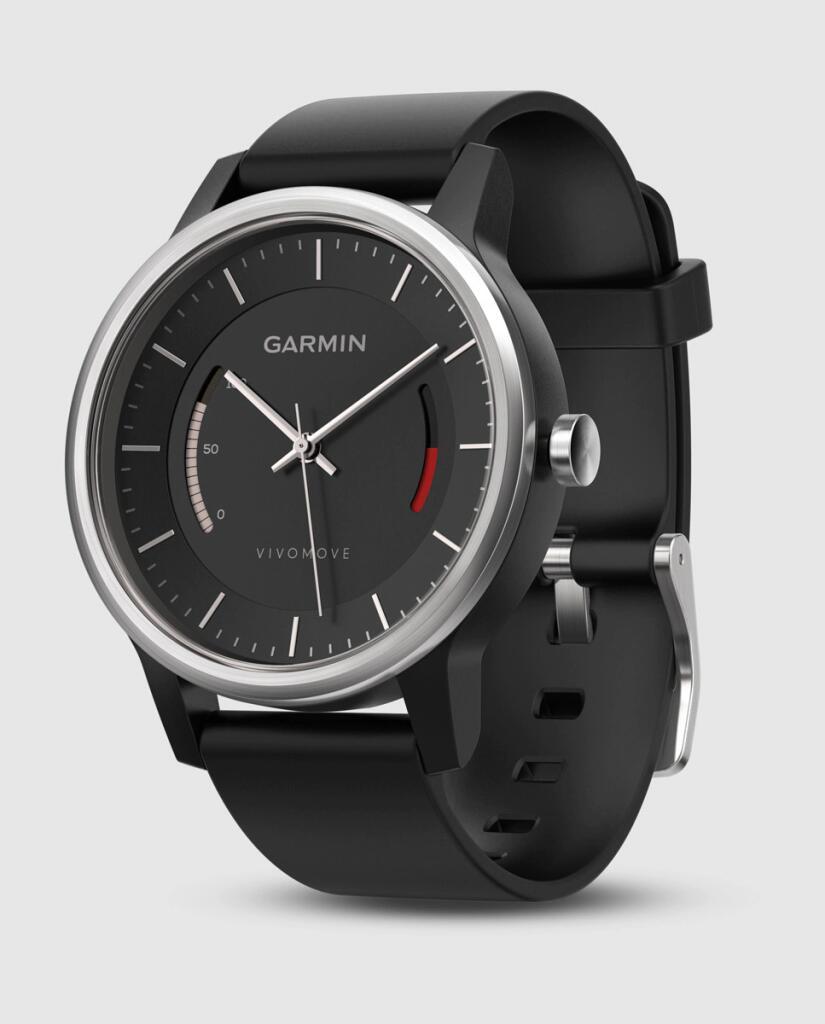 Reloj de hombre Garmin Vivomove 010-01597-10 de piel negro. Monitorización de la actividad